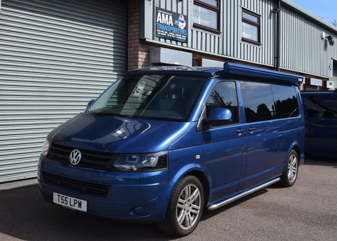 The LWB DSG T5 was ideal for the Tourer Trio Conversion
